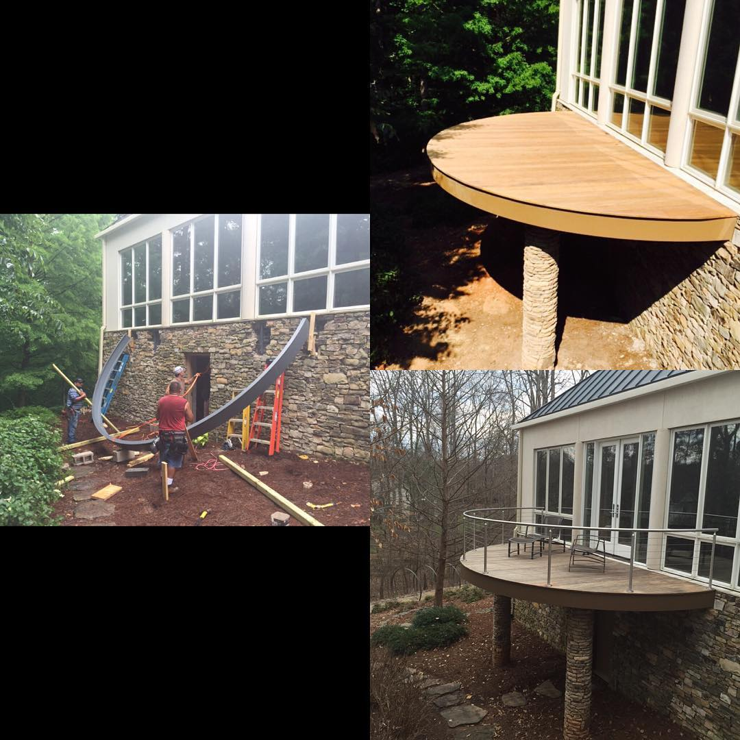 @woodworx_extreme_carpentry #woodworking #craftmanship #clt #lkn #davidson great project, happy client.