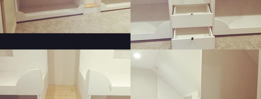 Custom beds carpentry