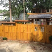 Asian style fence
